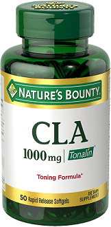 Nature's Bounty CLA Rapid Release Softgels Review