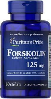 Puritan's Pride Forskolin Coleus Forskohlii Supplement for Weight Loss