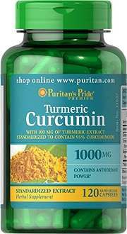 Puritan's Pride Turmeric Curcumin supplement