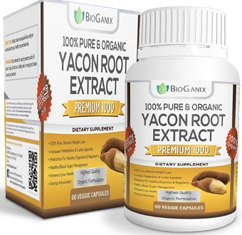 BioGanix Yacon Root Syrup Extract supplement