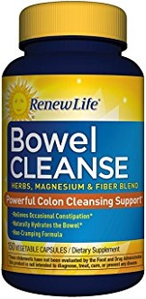Renew Life Organic Bowel Cleanse Supplement for Weight Loss
