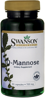 Swanson D-Mannose supplement for UTI