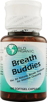World Organic Breath Buddies Supplement to Promote Fresh Breath