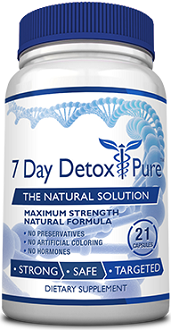 7 Day Detox Pure Supplement for Colon Cleanse