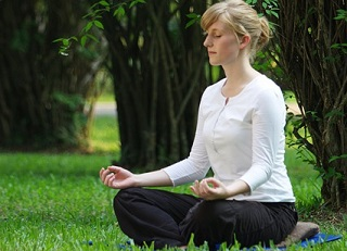 meditating for a healthier life
