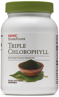 GNC Superfoods Triple Chlorophyll Supplement for Overall Health