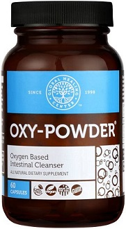 Global Healing Center Oxy Powder Supplement for Intestinal Cleanse