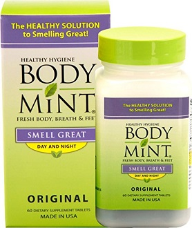 Health Hygiene Body Mint Supplement for Bodily Odors