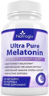 Natrogix Ultra Pure Melatonin Review