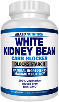 Arazo Nutrition White Kidney Bean Extract Supplement for Carb Blocking