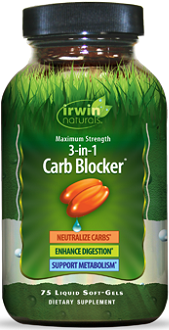 Irwin Naturals Maximum Strength 3-in-1 Carb Blocker Review