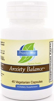 Priority One Anxiety Balance Supplement for Anxiety