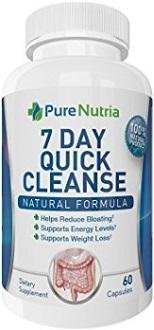 PureNutria 7-Day Colon Cleanse Detox Supplement for Colon Cleanse