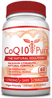 CoQ10 Pure Supplement for Cognitive and Cardiovascular Health
