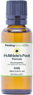 Healing Natural Oils H Athletes Foot Formula Review