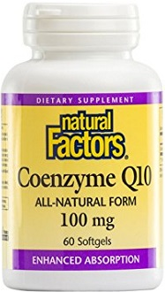 Natural Factors Coenzyme Q10 Review