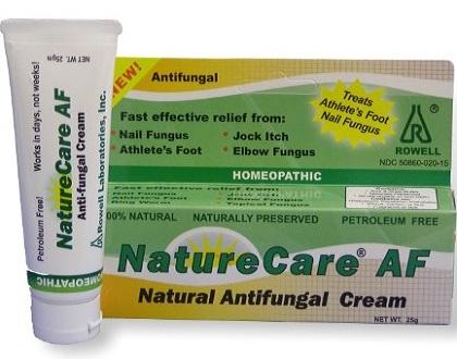 Rowell Laboratories Nature Care Anti fungal Cream Review
