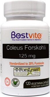 BestVite Coleus Forskohlii Supplement for Appetite Suppressant