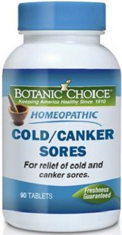 Botanic Choice Homeopathic Cold Canker Sores Formula Review