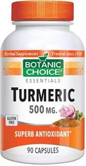 Botanic Choice Turmeric supplement