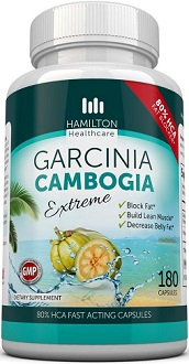 Hamilton Healthcare Garcinia Cambogia Extreme Supplement for Weight Loss
