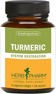 Herb Pharm Turmeric supplement