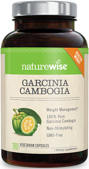 NatureWise Garcinia Cambogia Supplement for Weight Loss