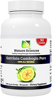 Naturo Sciences Garcinia Cambogia Supplement for Weight Loss