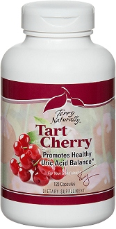 Terry Naturally Tart Cherry Supplement for Easing Joint Pain From Gout