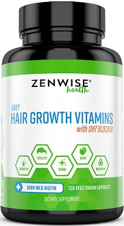 Zenwise Health Hair Growth Vitamins Review