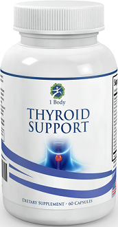 1 Body Thyroid Support for Thyroid