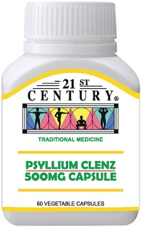21st Century Psyllium Clenz Supplement for Colon Cleanse