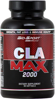 Bio-Sport USA CLA Max 2000 Supplement for Weight Loss