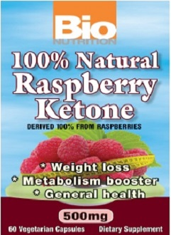 BioNutrition Raspberry Ketones supplement