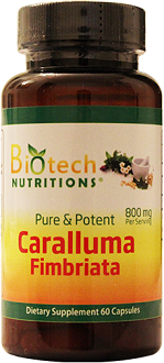 Biotech Nutritions Pure And Potent Caralluma Fimbriata for Weight Loss