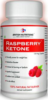 British Nutritions Raspberry Ketone supplement