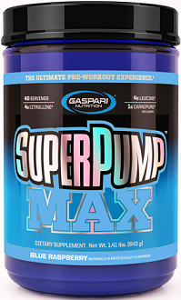 Gaspari Super Pump Max Review