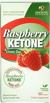 Genceutic Naturals PURE RAS Raspberry Ketone for Weight Loss