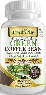 Health Plus Prime Green Coffee Bean Extract Review