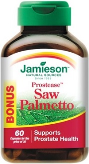 Jamieson Natural Sources Prostease Saw Palmetto supplement