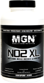 Muscle Gauge Nutrition NO2XL for Nitric Oxide