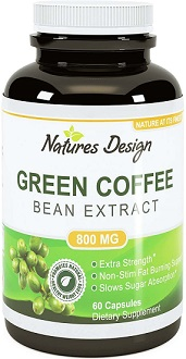 Natures Design Coffee Bean Extract