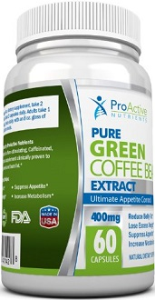 ProActive Nutrients Pure Green Coffee Bean Extract