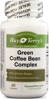 Ray and Terry's Longevity Products Green Coffee Complex