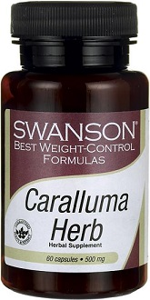 Swanson Best Weight-Control Formulas Caralluma Herb Supplement for Weight Loss