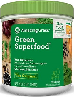 Amazing Grass Green Superfood for Colon Cleanse