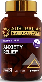 Aus Natural Care Anxiety Relief for Anxiety Relief