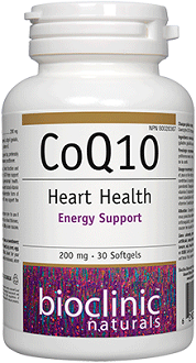 Bioclinic Naturals CoQ10 for Health & Well-Being