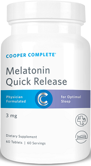 Cooper Complete Melatonin Quick Release for Jet Lag