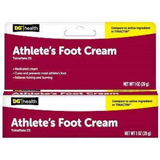 DG Health Athlete's Foot Cream for Athlete's Foot